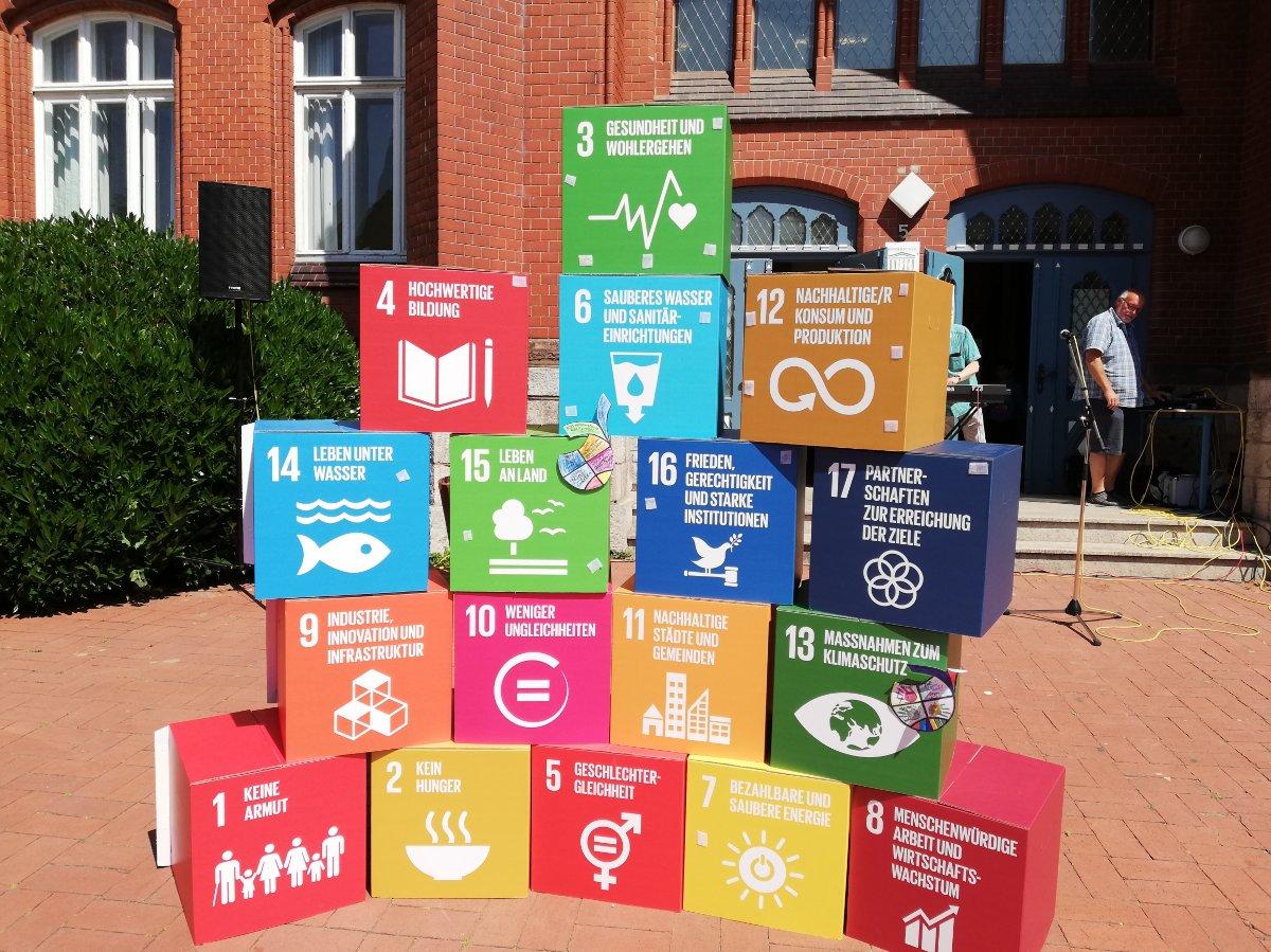 Die 17 Nachhaltigkeitsziele
